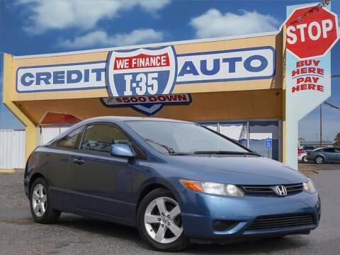 2008 Honda Civic for sale at Buy Here Pay Here Lawton.com in Lawton OK