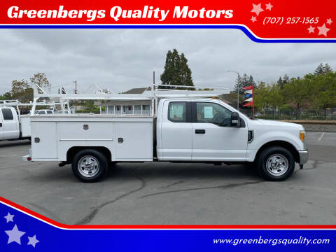 2017 Ford F-350 Super Duty for sale at Greenbergs Quality Motors in Napa CA