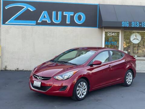 2012 Hyundai Elantra for sale at Z Auto in Sacramento CA