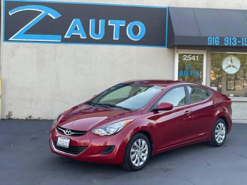 2012 Hyundai Elantra for sale at Z Auto in Sacramento CA
