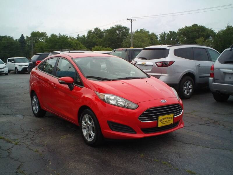 2014 Ford Fiesta for sale at BestBuyAutoLtd in Spring Grove IL