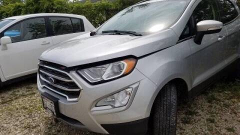 2019 Ford EcoSport for sale at CousineauCrashed.com in Weston WI