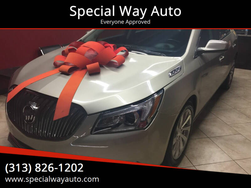 2015 Buick LaCrosse for sale at Special Way Auto in Hamtramck MI
