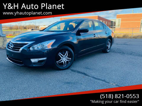 2015 Nissan Altima for sale at Y&H Auto Planet in West Sand Lake NY