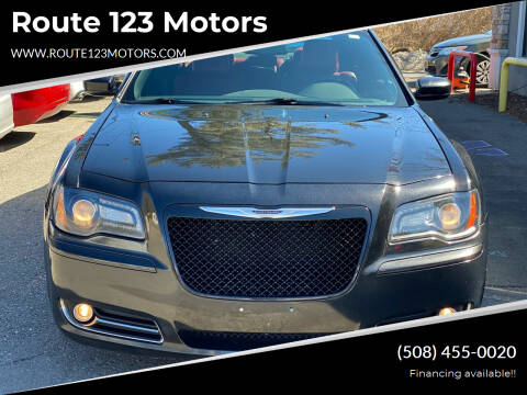 2013 Chrysler 300 for sale at Route 123 Motors in Norton MA