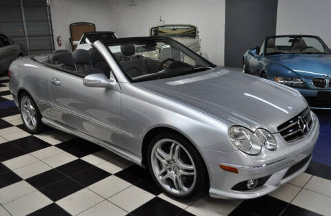 2009 Mercedes-Benz CLK for sale at Podium Auto Sales Inc in Pompano Beach FL