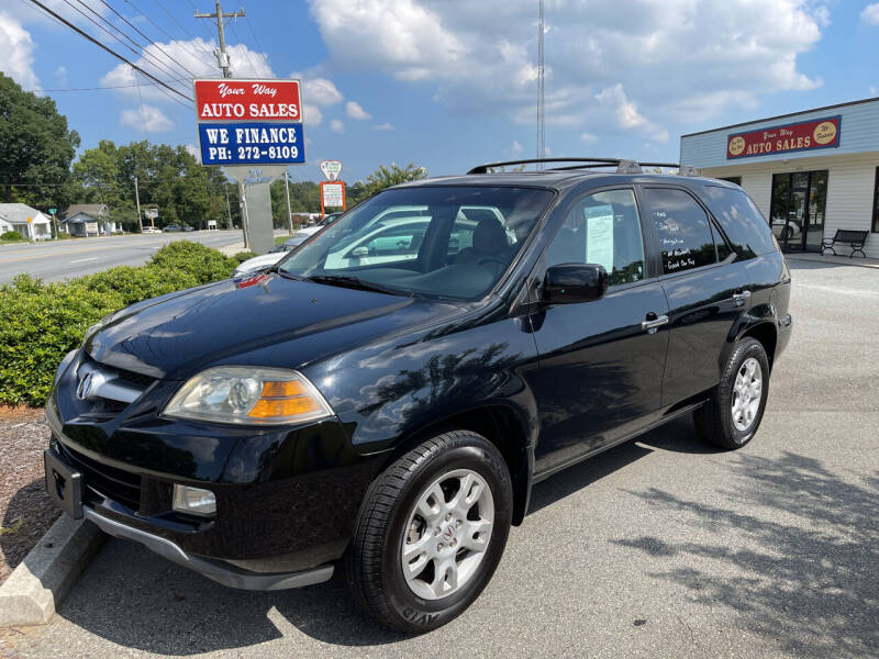 2006 Acura MDX for sale at YOUR WAY AUTO SALES INC in Greensboro NC