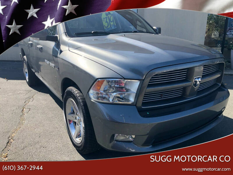2011 RAM Ram Pickup 1500 for sale at Sugg Motorcar Co in Boyertown PA