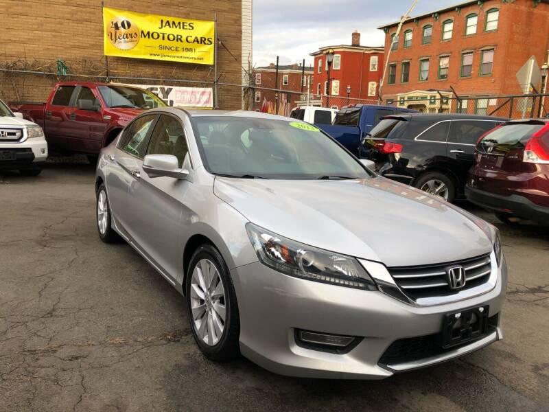 2013 Honda Accord for sale at James Motor Cars in Hartford CT