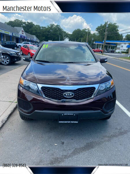 2011 Kia Sorento for sale at Manchester Motors in Manchester CT