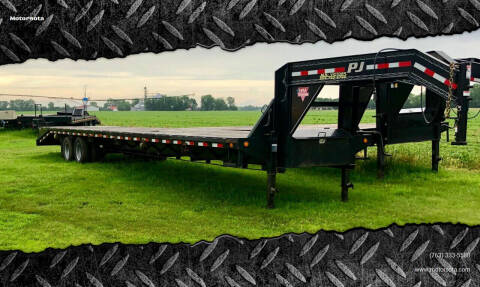 2018 PJ 40' Flat Bed w/ Monster Ramps for sale at Motorsota in Becker MN