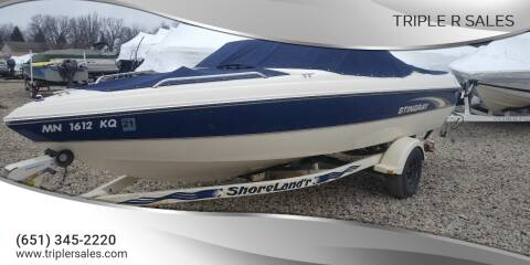 2002 Stingray 190LX for sale at Triple R Sales in Lake City MN