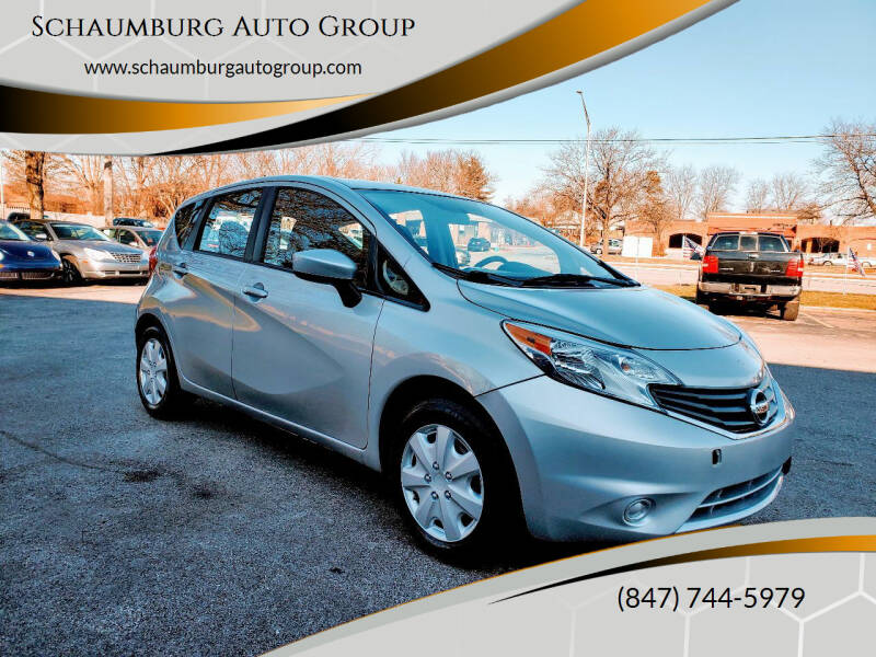 2015 Nissan Versa Note for sale at Schaumburg Auto Group in Schaumburg IL