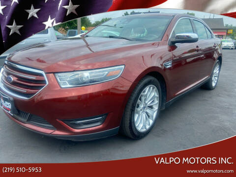 2016 Ford Taurus for sale at Valpo Motors in Valparaiso IN