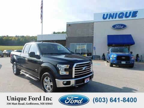 2015 Ford F-150 for sale at Unique Motors of Chicopee - Unique Ford in Goffstown NH