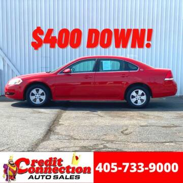 2009 Chevrolet Impala for sale at Credit Connection Auto Sales in Midwest City OK