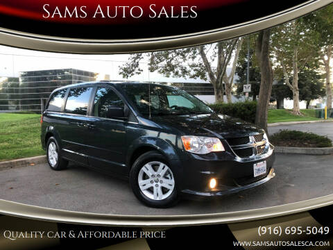 2013 Dodge Grand Caravan for sale at Sams Auto Sales in North Highlands CA
