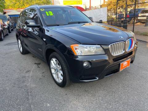 2013 BMW X3 for sale at TOP SHELF AUTOMOTIVE in Newark NJ