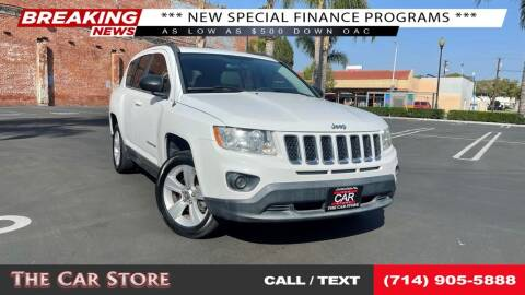 2011 Jeep Compass for sale at The Car Store in Santa Ana CA