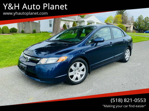 2006 Honda Civic for sale at Y&H Auto Planet in West Sand Lake NY