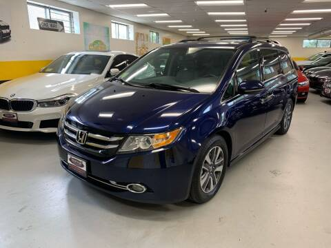 2016 Honda Odyssey for sale at Newton Automotive and Sales in Newton MA