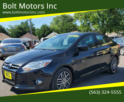 2012 Ford Focus for sale at Bolt Motors Inc in Davenport IA