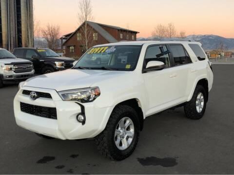 2016 Toyota 4Runner for sale at Snyder Motors Inc in Bozeman MT