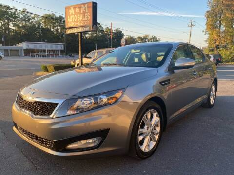 2013 Kia Optima for sale at A & M Auto Sales, Inc in Alabaster AL