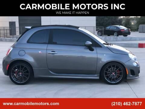 2013 FIAT 500c for sale at CARMOBILE MOTORS INC in San Antonio TX