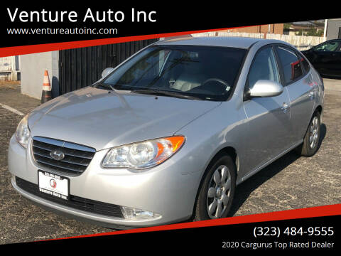 2008 Hyundai Elantra for sale at Venture Auto Inc in South Gate CA