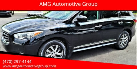 2013 Infiniti JX35 for sale at AMG Automotive Group in Cumming GA