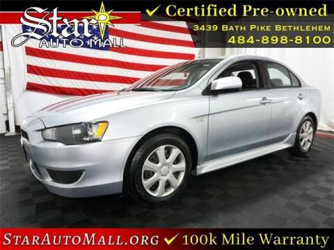 2014 Mitsubishi Lancer for sale at STAR AUTO MALL 512 in Bethlehem PA