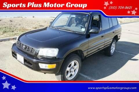 1999 Toyota RAV4 for sale at Sports Plus Motor Group LLC in Sunnyvale CA