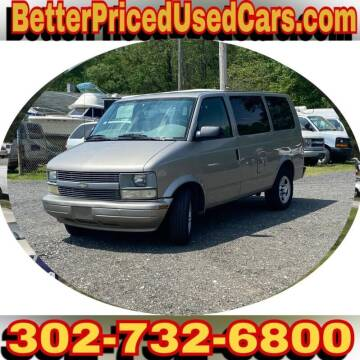 2005 Chevrolet Astro for sale at Better Priced Used Cars in Frankford DE