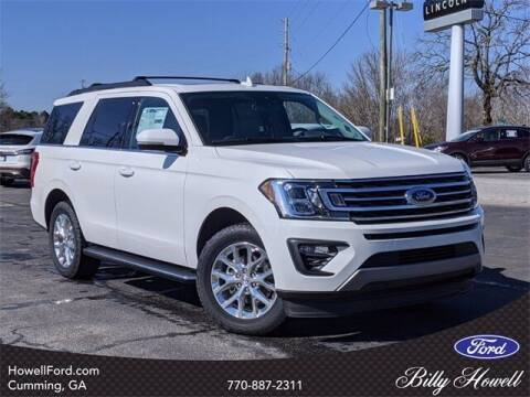2021 Ford Expedition for sale at BILLY HOWELL FORD LINCOLN in Cumming GA