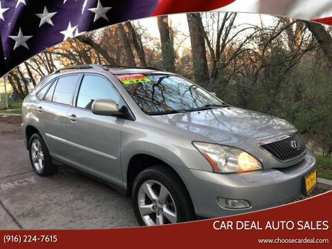 2006 Lexus RX 330 for sale at Car Deal Auto Sales in Sacramento CA