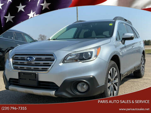 2016 Subaru Outback for sale at Paris Auto Sales & Service in Big Rapids MI