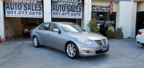 2009 Hyundai Genesis for sale at Affordable Imports Auto Sales in Murrieta CA