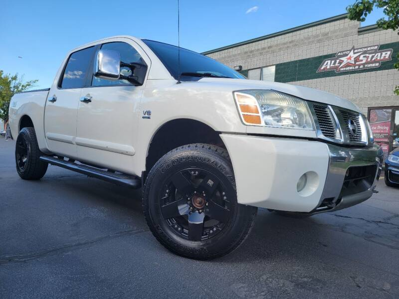 2004 Nissan Titan for sale at All-Star Auto Brokers in Layton UT