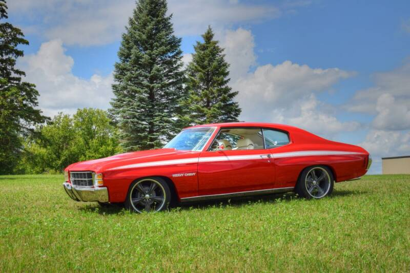 1971 Chevrolet Chevelle Malibu for sale at Hooked On Classics in Watertown MN