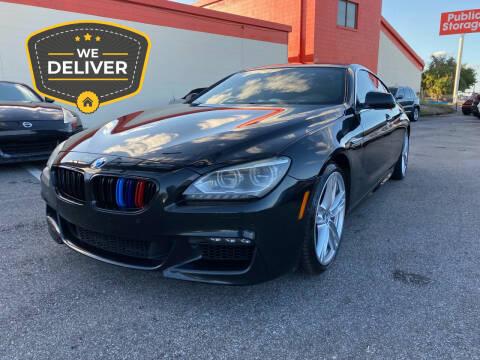 2013 BMW 6 Series for sale at JC AUTO MARKET in Winter Park FL