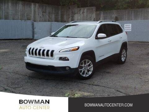 2017 Jeep Cherokee for sale at Bowman Auto Center in Clarkston MI