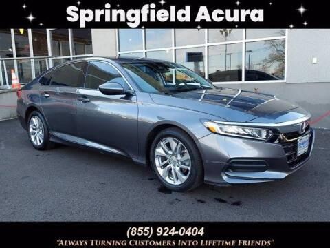 2019 Honda Accord for sale at SPRINGFIELD ACURA in Springfield NJ