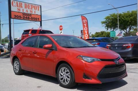 2017 Toyota Corolla for sale at Car Depot in Miramar FL