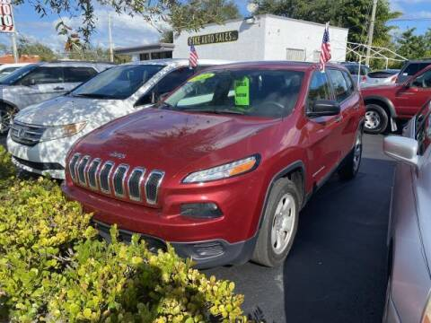 2017 Jeep Cherokee for sale at Mike Auto Sales in West Palm Beach FL
