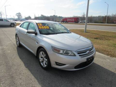 2012 Ford Taurus for sale at Auto Bella Inc. in Clayton NC