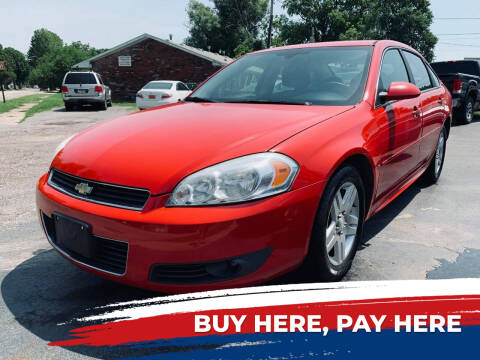 2009 Chevrolet Impala for sale at Marti Motors Inc in Madison IL