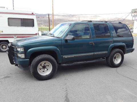 2000 Chevrolet Tahoe Limited/Z71 for sale at Super Sport Motors LLC in Carson City NV