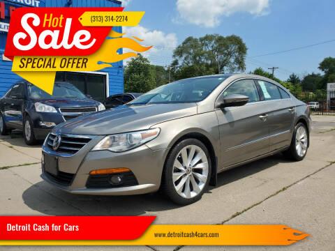 2012 Volkswagen CC for sale at Detroit Cash for Cars in Warren MI