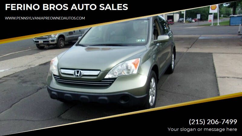 2008 Honda CR-V for sale at FERINO BROS AUTO SALES in Wrightstown PA